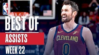 NBA's Best Assists | Week 22 | State Farm