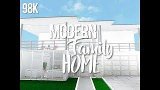 Roblox Welcome To Bloxburg || Modern Family Home 98k ♡