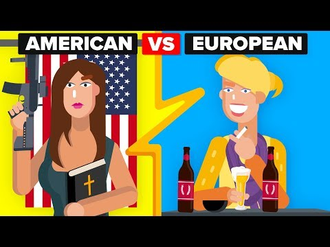 American Girls vs European Girls - How Do They Compare?