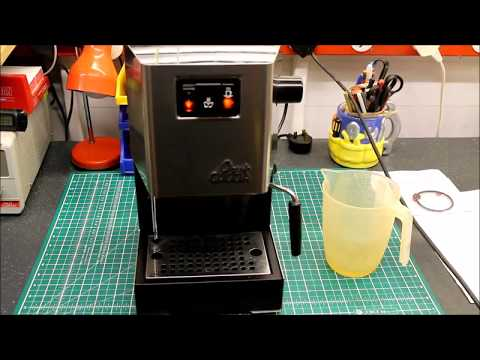 how to deep clean the gaggia brera brew group doovi. Black Bedroom Furniture Sets. Home Design Ideas