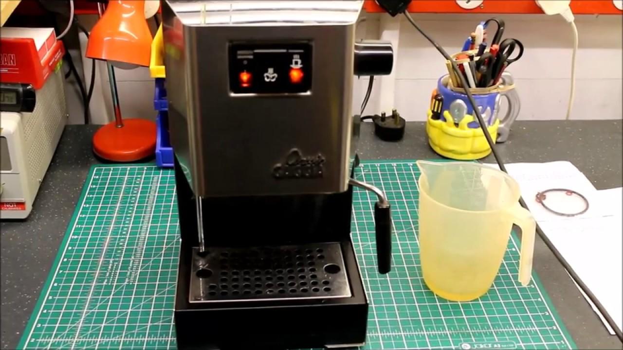 Gaggia Classic Coffee Machine Boiler Repair At Fixitworkshop