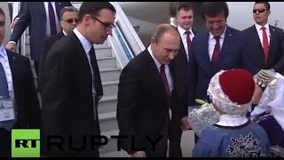 Turkey: Putin arrives in Antalya ahead of G20 summit
