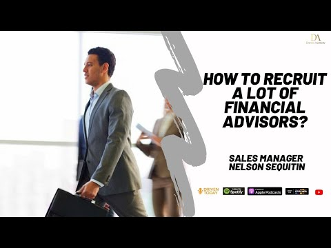 How to recruit Financial Advisors and be a recruitment machine | Recruitment Specialist