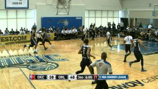 Oklahoma City Thunder vs Orlando Magic Summer League Recap