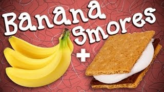 Yummy Banana Boat S'mores! | Dessert Ideas | Just Add Sugar