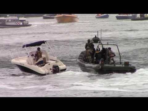 demonstratie oorlog op zee/ anti piraterij (#1221)