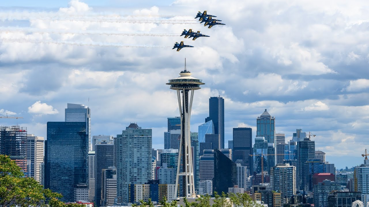 Blue Angels Seafair 2019 Preview with Lt  James Cox