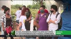 Hôpitaux débordés, fosses communes : le Brésil subit l'épidémie de plein fouet