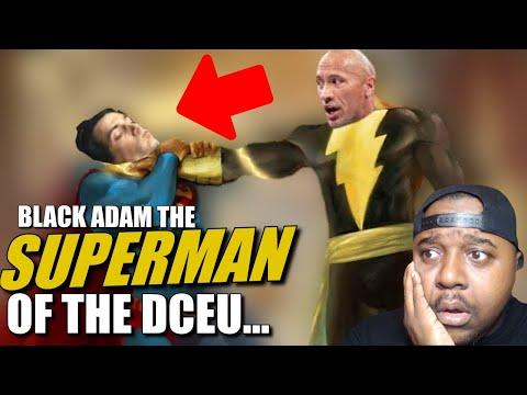 PROOF! Warner Wants Black Adam Not Henry Cavill Superman   DCEU Restore The Snyderverse DCEU News