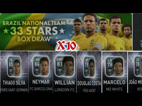 PES 17 mobile: 🇧🇷Brazil National Team