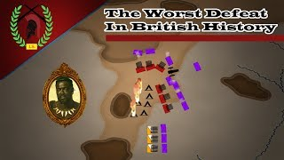 The Battle of Isandlwana: One of The Worst Defeats of The British Empire - Military History Animated