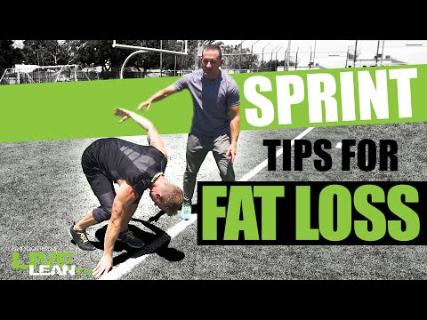 Sprint Tips For Fat Loss with Pro Track Athlete Steven Benedict