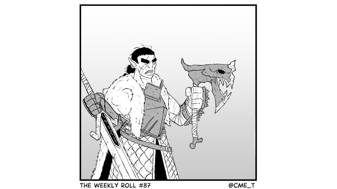 """The Weekly Roll #87: """"Cool kids don't do curses"""" 