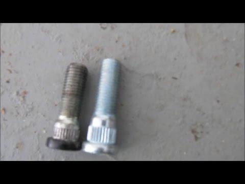 3rd Gen 4runner Front Extended Wheel Stud Options | install & removal