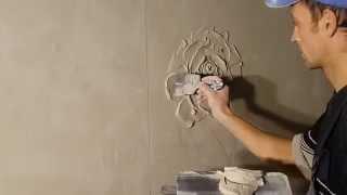 видео изготовление высококачественной гипсовой лепнины