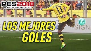 Los MEJORES GOLES de PES 2018 !!!