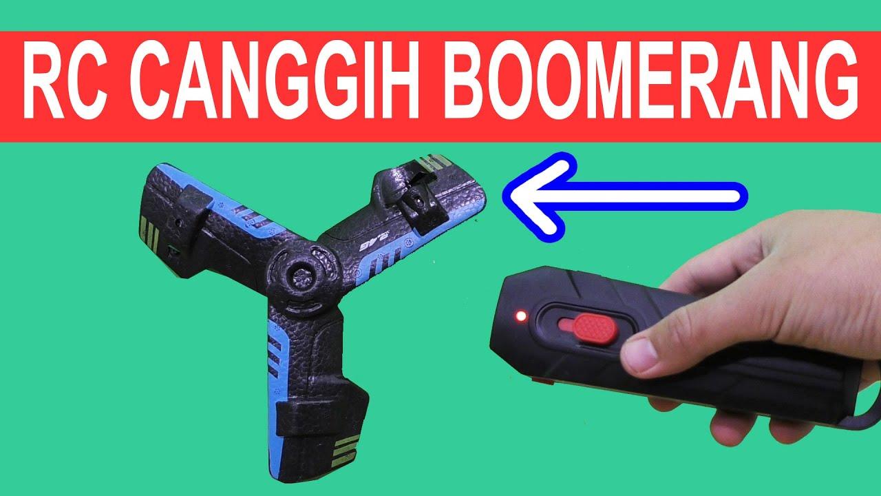 RC CANGGIH BOOMERANG SERU BANGET