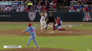 Arizona offense erupts for 16 runs as Cats punch ticket to Omaha