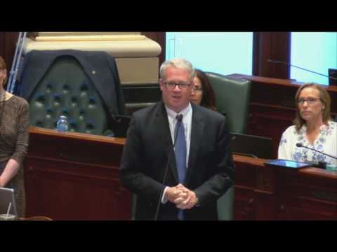 Illinois House Minority Leader Jim Durkin on Madigan