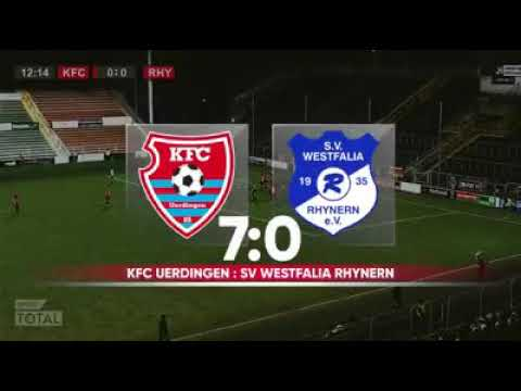Regionalliga west KFC Uerdingen gegen Westfalia Rhynern alle Tore
