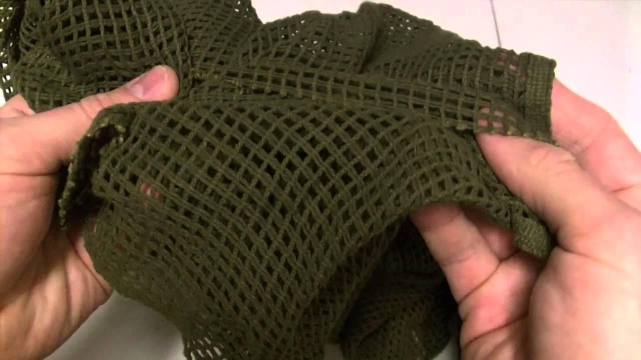 Tac-Up Gear - Scrim Net Scarf OD