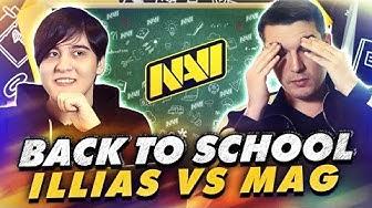 Mag и illias Отвечают на Школьные Вопросы (NAVI Challenge)