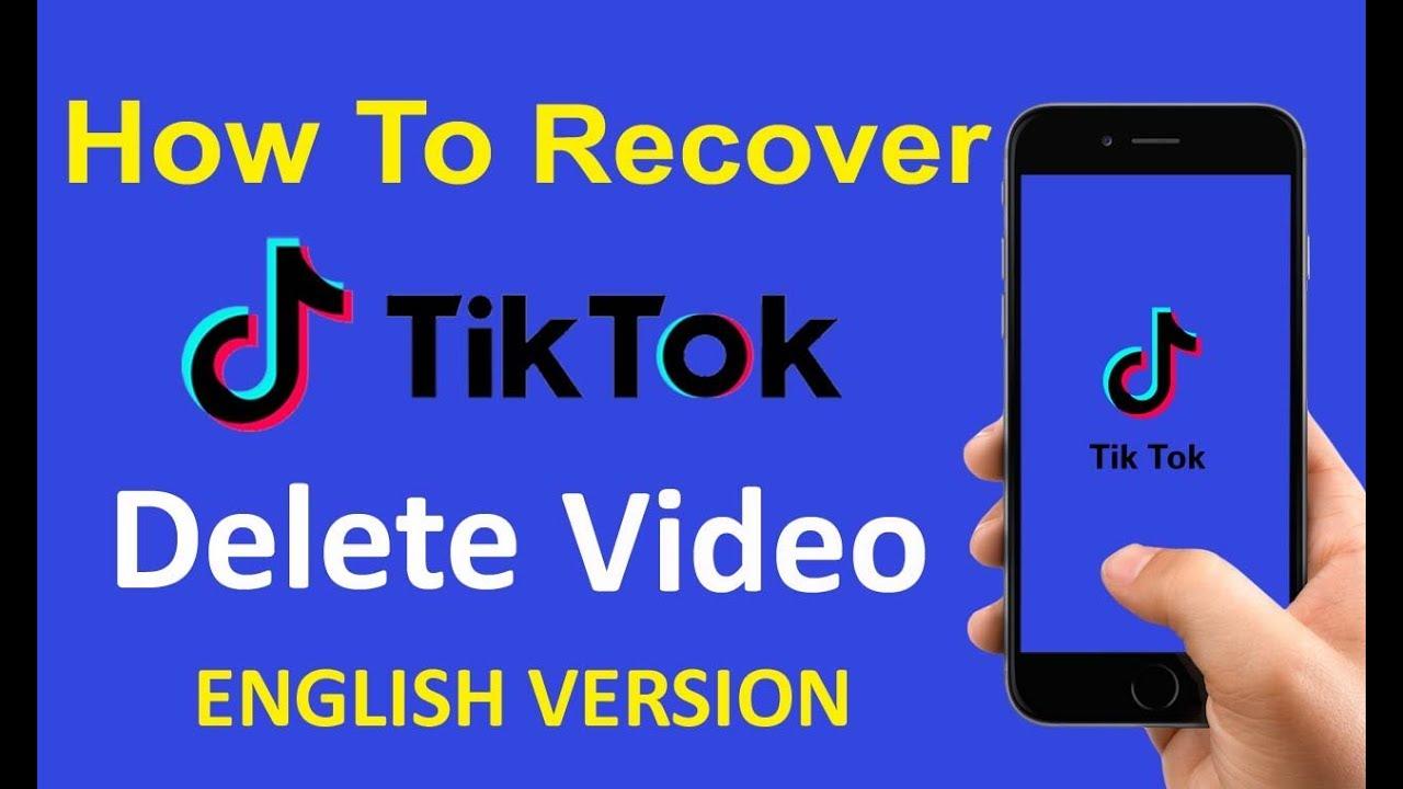 How To Recover My Tiktok Deleted Videos Tiktok Deleted Videos Recovery English Version 2019 Youtube