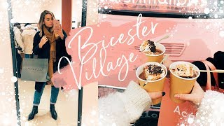WHAT I DID + BOUGHT THIS WEEK AT BICESTER VILLAGE | Hello October Vlogmas