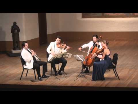 Mozart Oboe Quartet in F Major, K. 370 - 1st mvt. | L. Wang, G. Schmidt, L. Francis, F. Fan