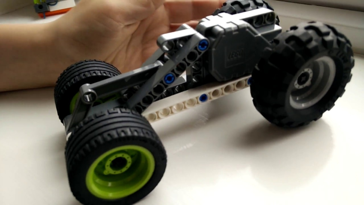 Easy To Make Lego Technic Pull Back Motor Car