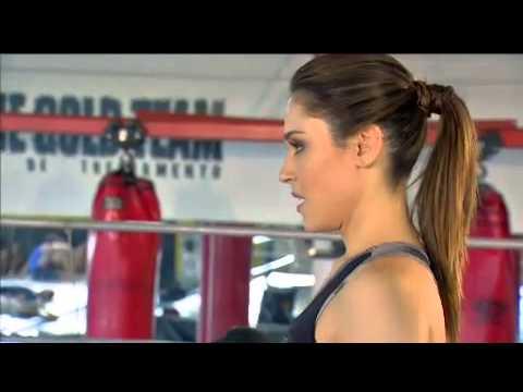 NADJA HADDAD lutando MMA