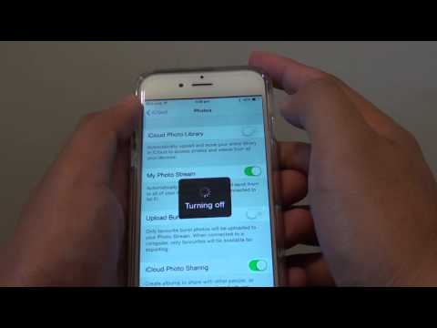 iPhone 6: How to Automatically Sync Photos to iCloud