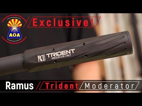 Ramus Trident Airgun Moderators - YouTube