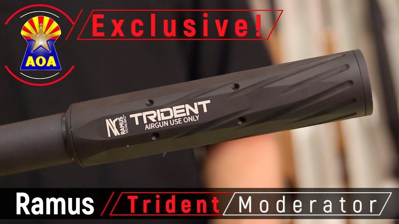 Ramus Trident Airgun Moderators