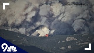Weather Conditions Improve For Cameron Peak Fire