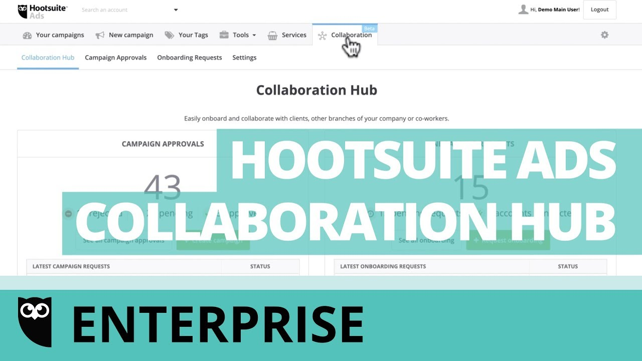 Collaboration - approval and onboarding requests – Hootsuite Help Center