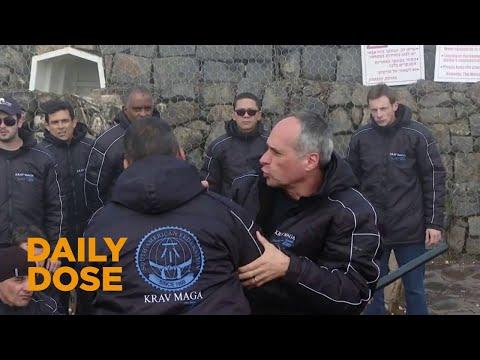 Israeli Krav Maga Experts Teaching Police Officers in Brazil the Combat Sport