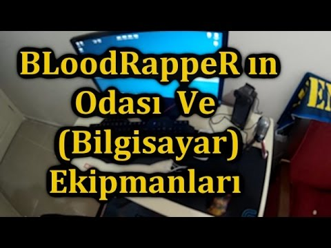 bloodrapperın odası ve bilgisayarekipmanları vlog1