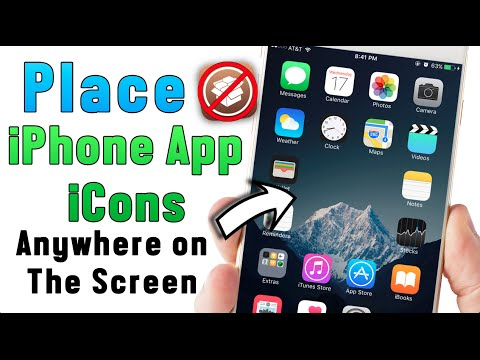 How to Place iPhone App Anywhere on The Screen No Jailbreak