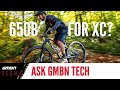 Why Don't Cross Country Racers Use 27.5 Inch Wheels? | Ask GMBN Tech