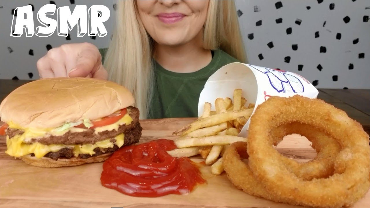 cheeseburger and onion rings sonic