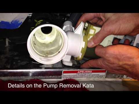 Fix F 21 F 33 Whirlpool Duet Sport Drain Pump Motor Pro