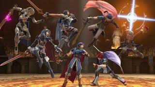 """Heroes"" A Super Smash Bros Ultimate Fire Emblem Montage"