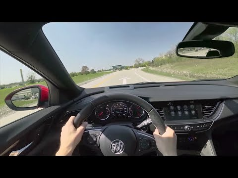 2018 Buick Regal GS - POV Driving Impressions (Binaural Audio)
