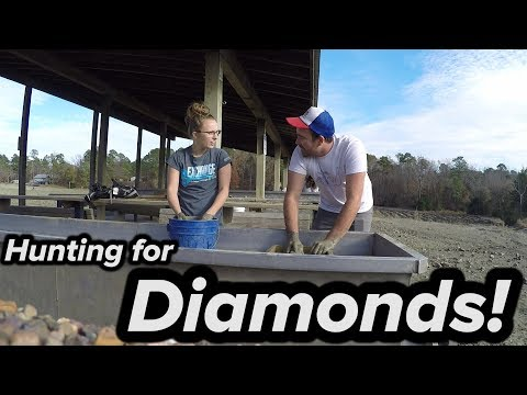 CRATER Of DIAMONDS STATE PARK!! (we Found Something!)