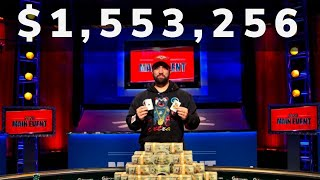 2020 WSOP Main Event Final Table Champion Joe Hebert