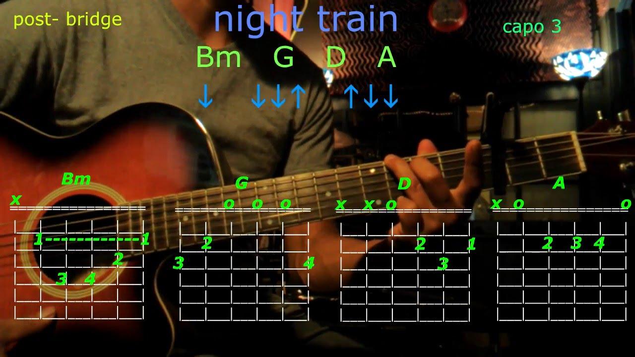 Night Train Jason Aldean Guitar Chords Youtube