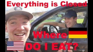 """American asks Germans """"Was machst du am Sonntag?"""""""