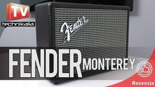 FENDER Monterey - recenzja głośnika bluetooth
