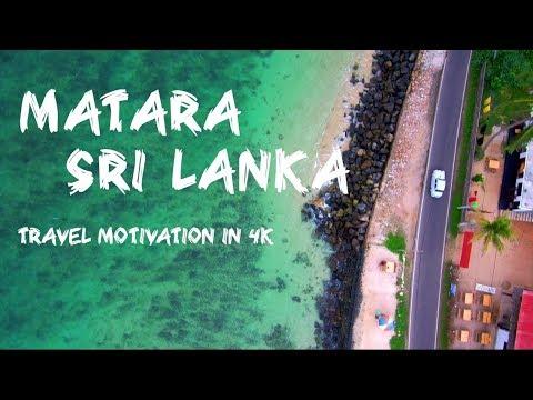Matara Sri Lanka in 4K | Travel Motivation | By Mi 4K drone, Yi 4K with Zhiyun Evolution stabilizer